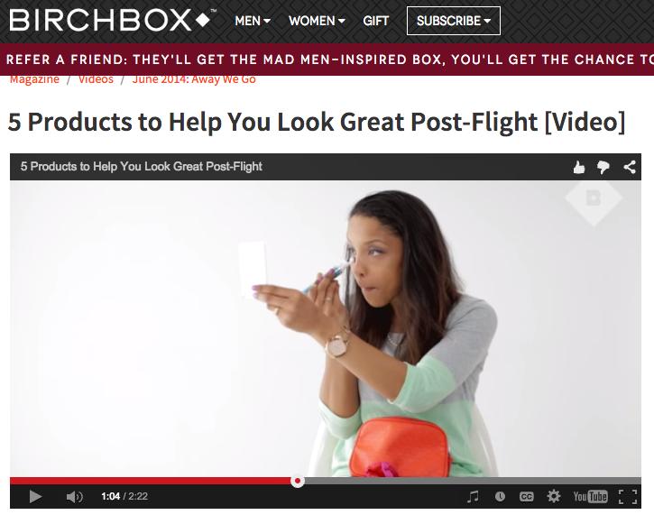 BirchBox How To Video