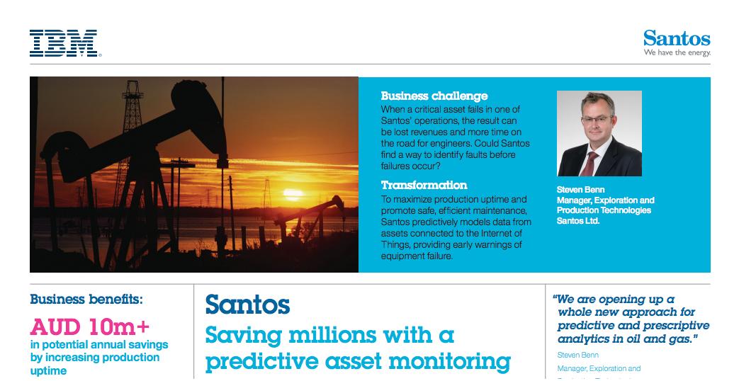 IBM / Santos Case Study