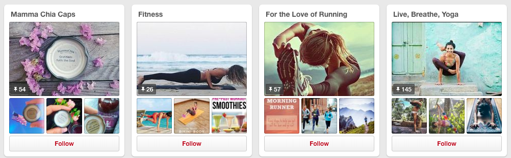 Fitness, Running and Yoga Boards