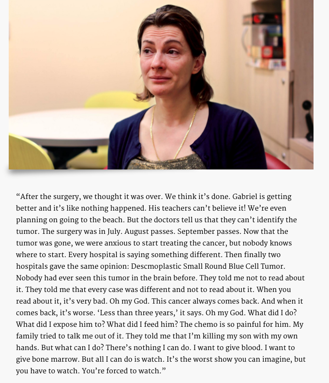 HONY Cancer Episodic Content Series