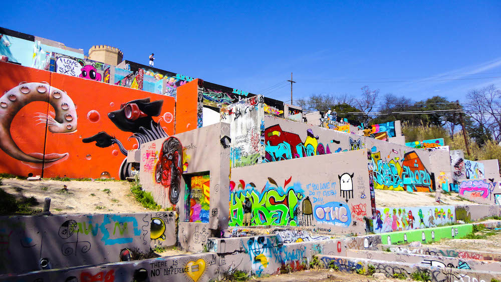 HOPE Outdoor Gallery Demonstrates Austin's Resourcefulness and Ingenuity