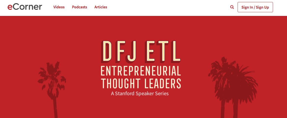 stanford thought leadership content marketing
