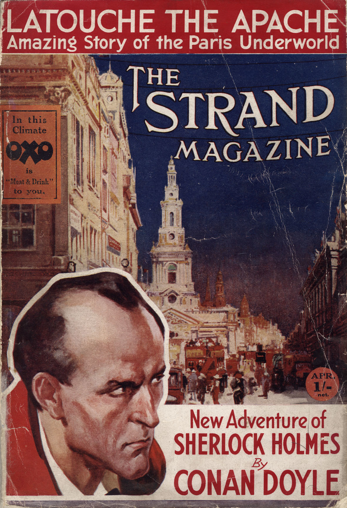 Sherlock Holmes in the Strand Magazine