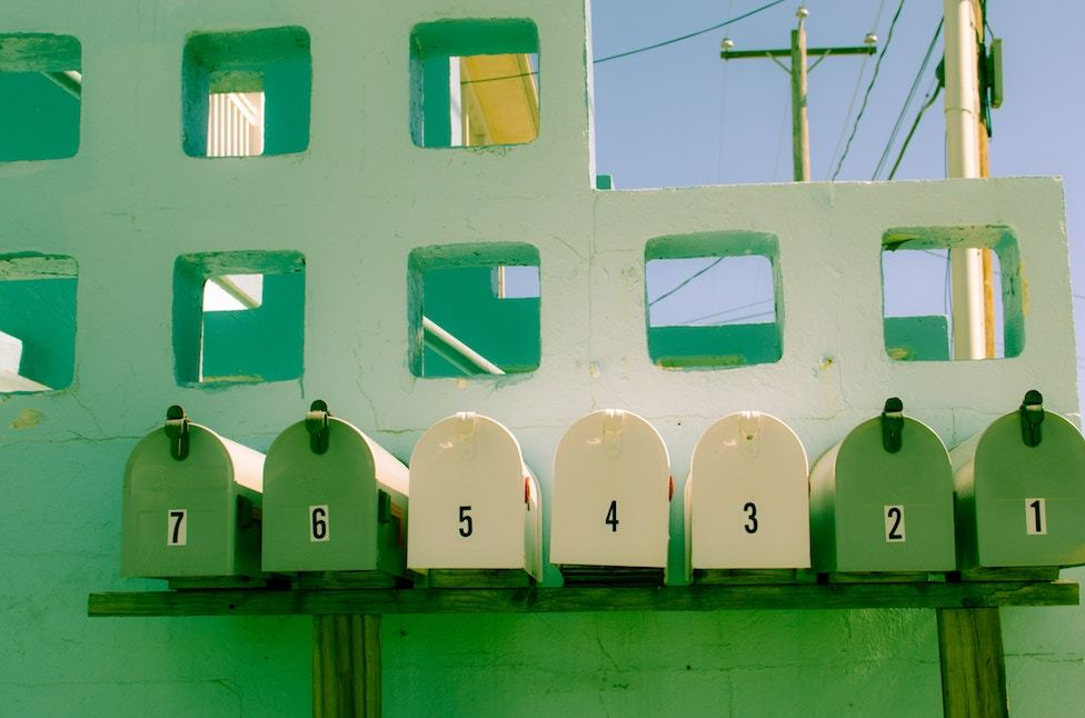 7 mailboxes