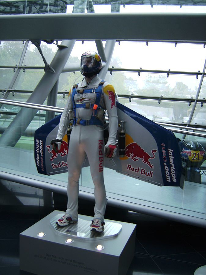 Red Bull Stratos suit