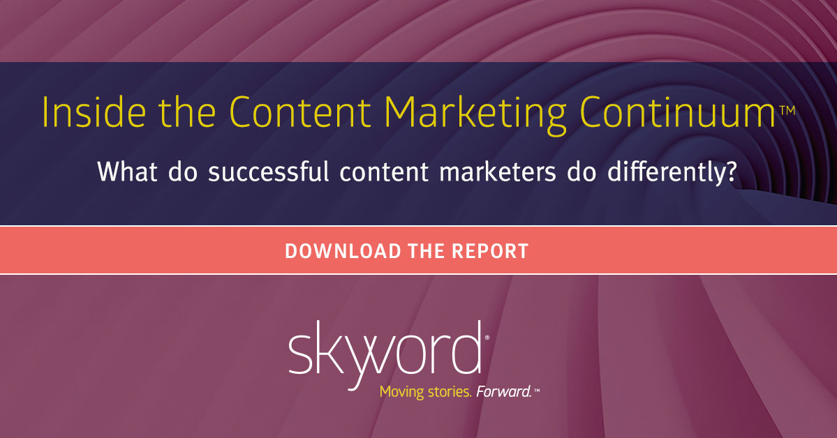 Inside the Content Marketing Continuum™