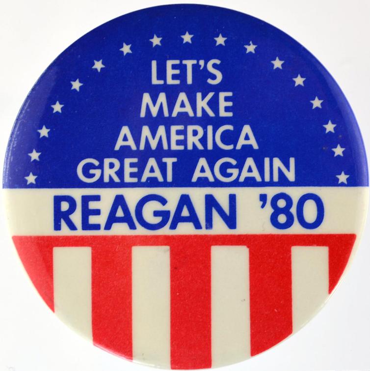 Reagan 1980-Let's Make America Great Again