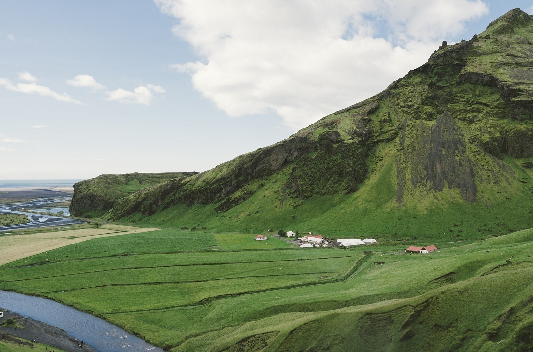 Image of the Icelandic countryside