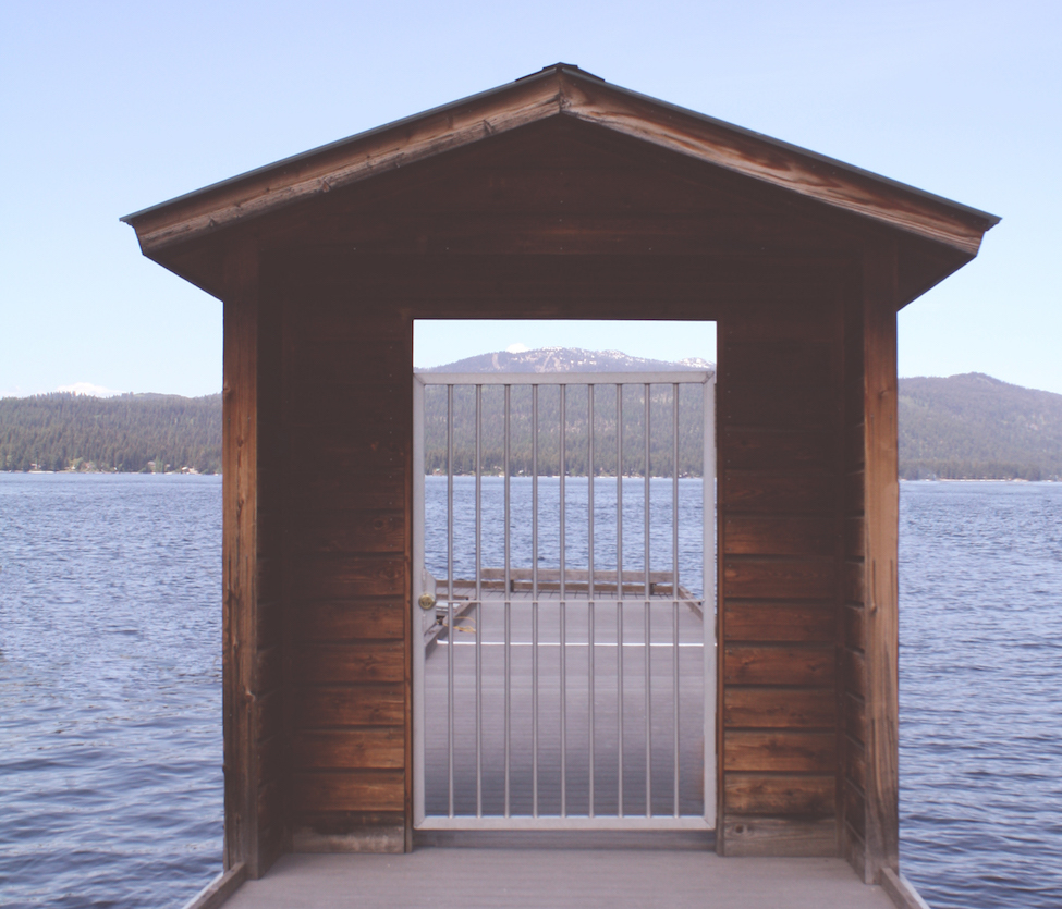 gate to a jetty