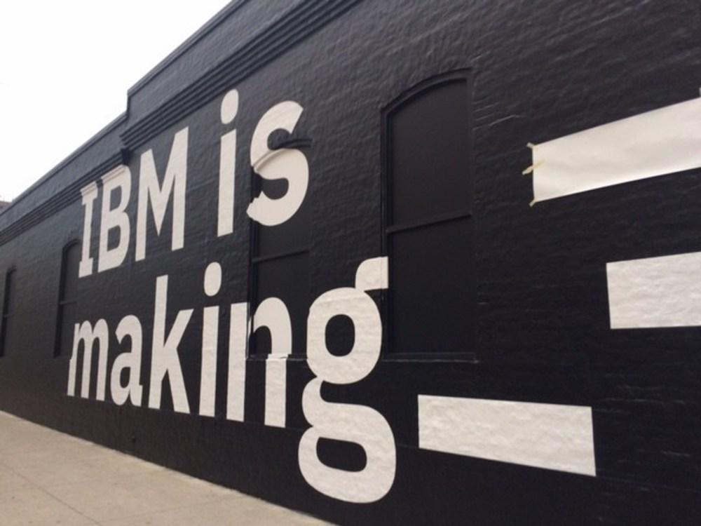 IBM experiential marketing