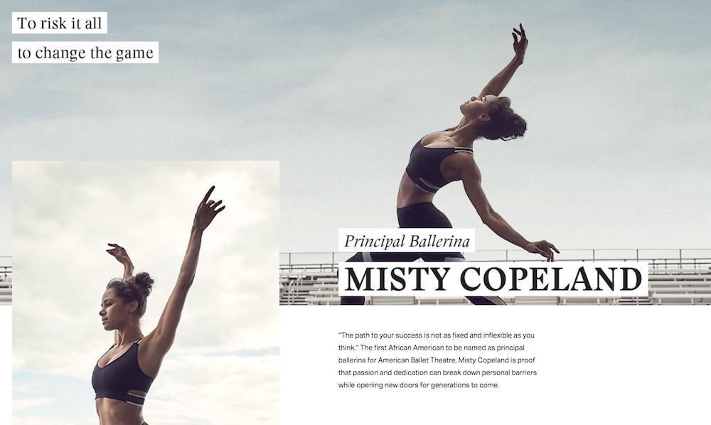 Under Armour - Misty Copeland