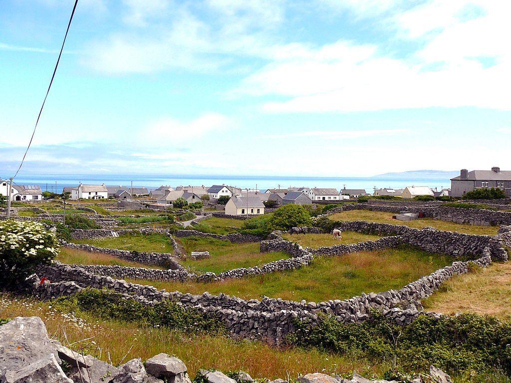 Aran Island stone walls