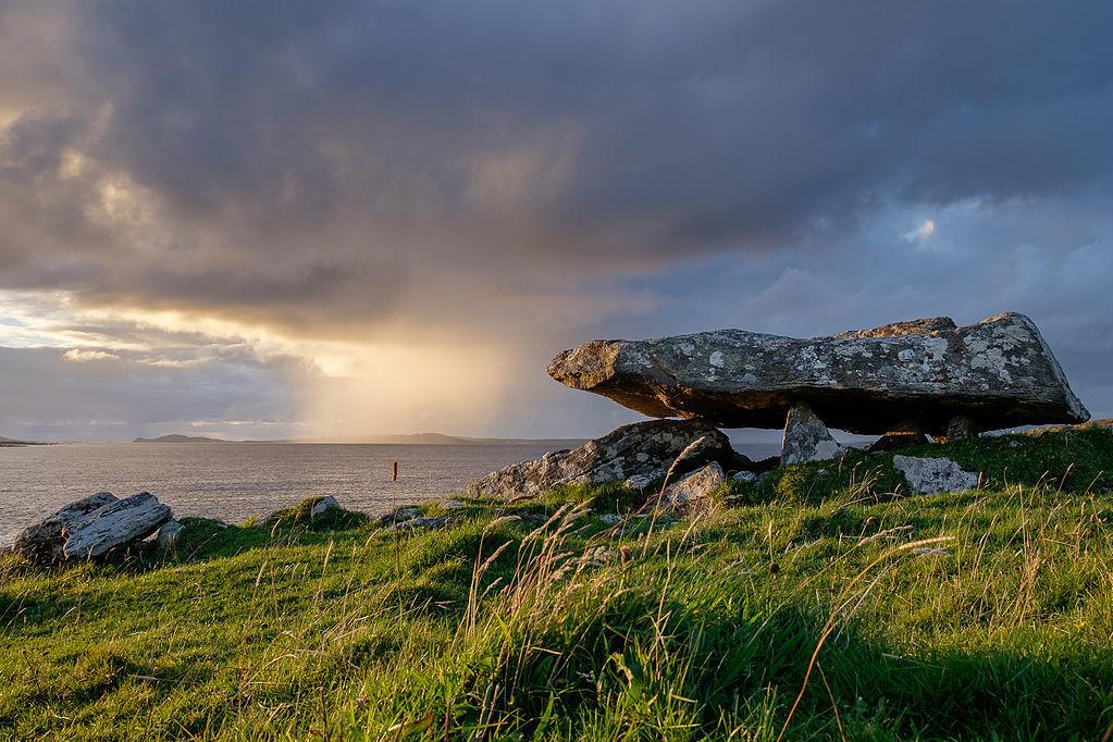 Knockbrack Megalithic Tomb, Galway, Ireland