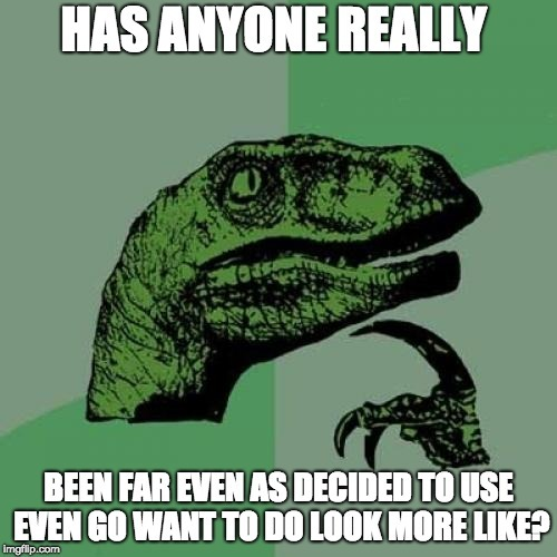 Readability meme