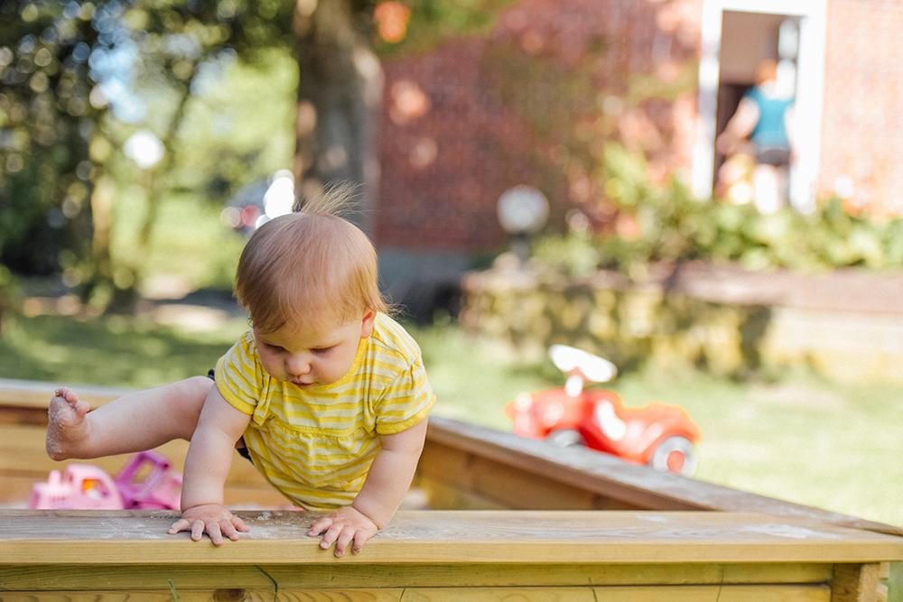 Infant curiosity