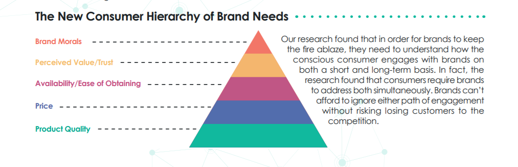 Adjusted hierarchy of needs from Blis