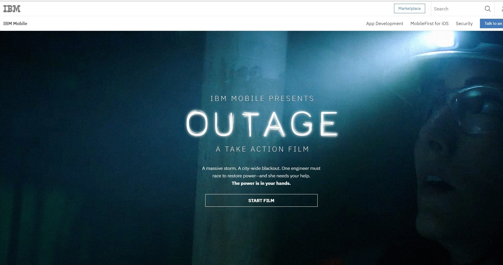 Outage: A Take Action Film by IBM