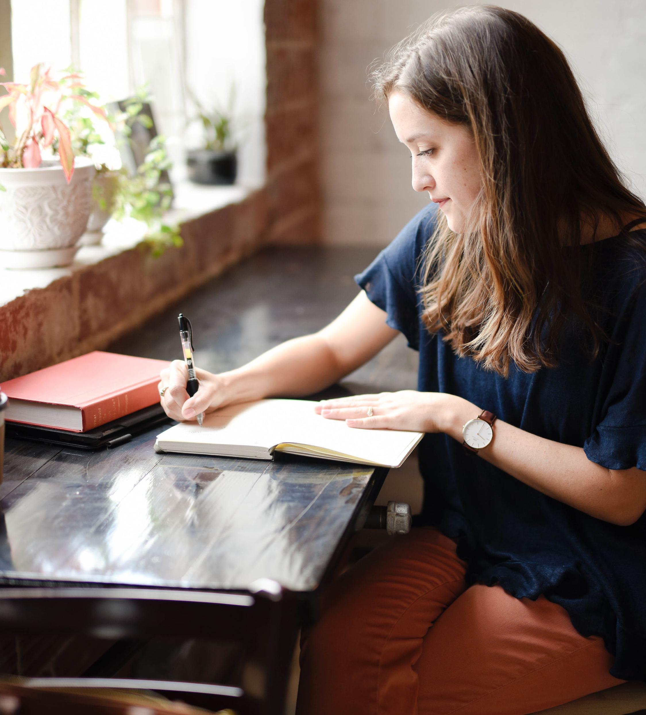 freelance writer working