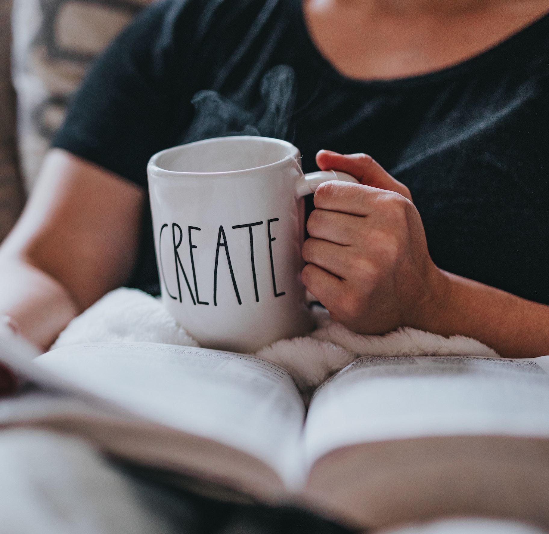 Imagine of mug with word