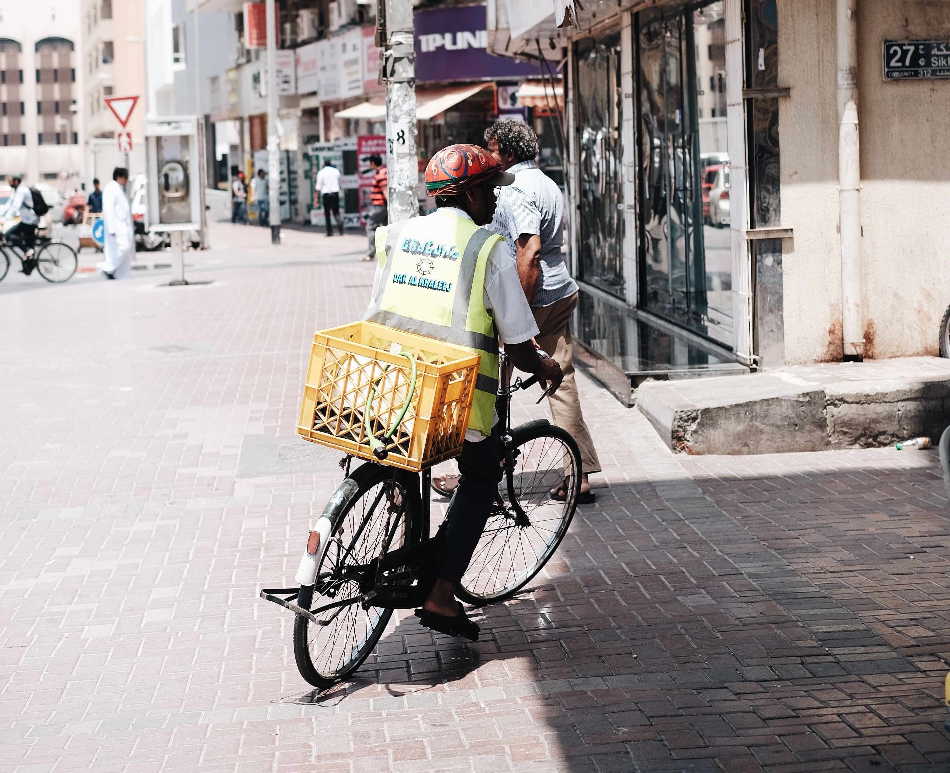 newspaper delivery