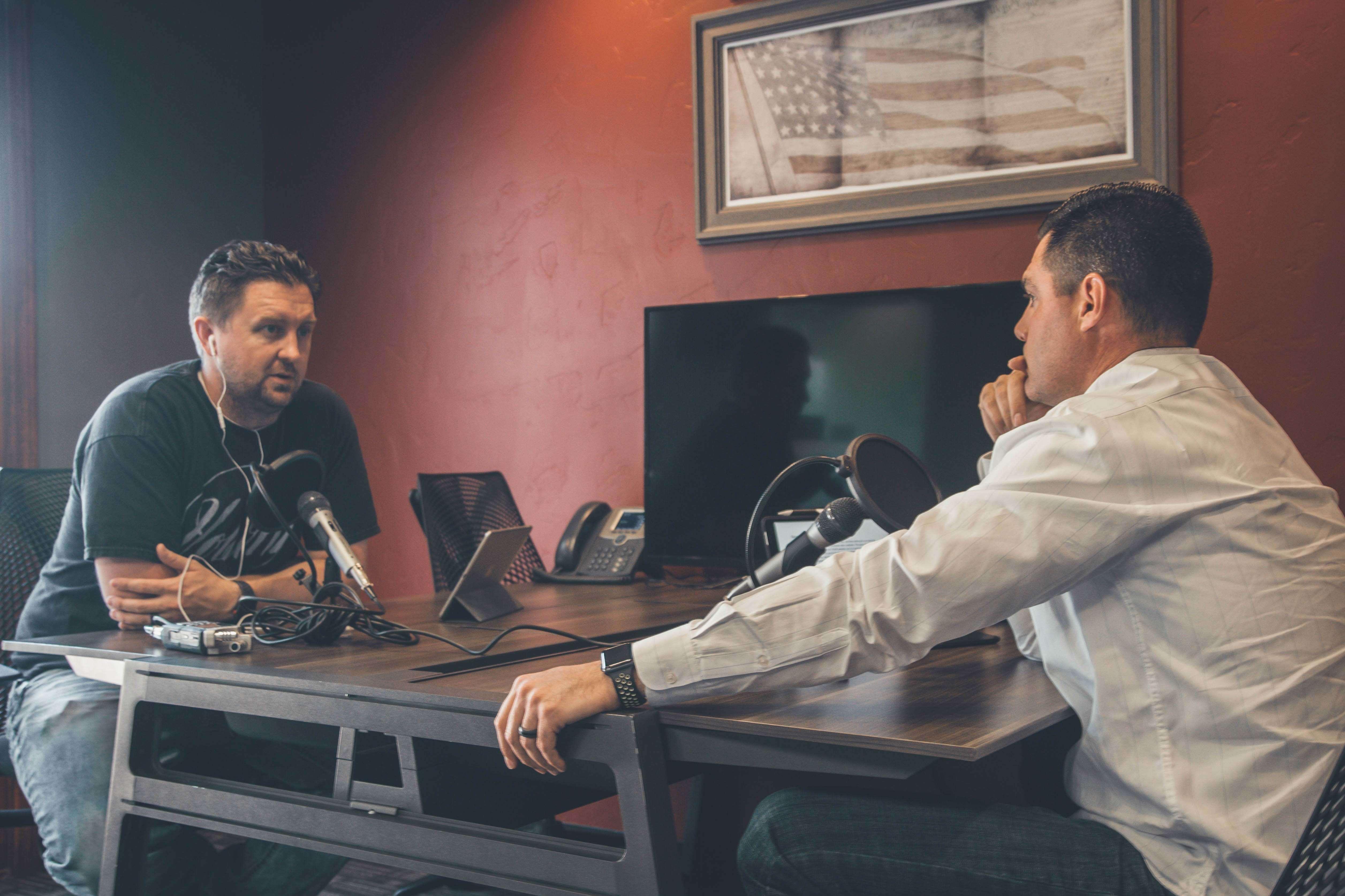 radio interviewer