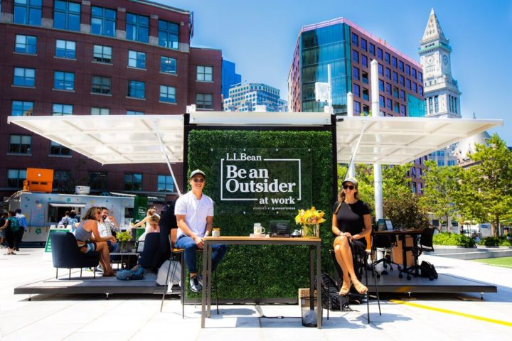 """L.L. Bean's """"Be an Outsider at Work"""" Campaign Masters the Art of Multichannel Marketing"""