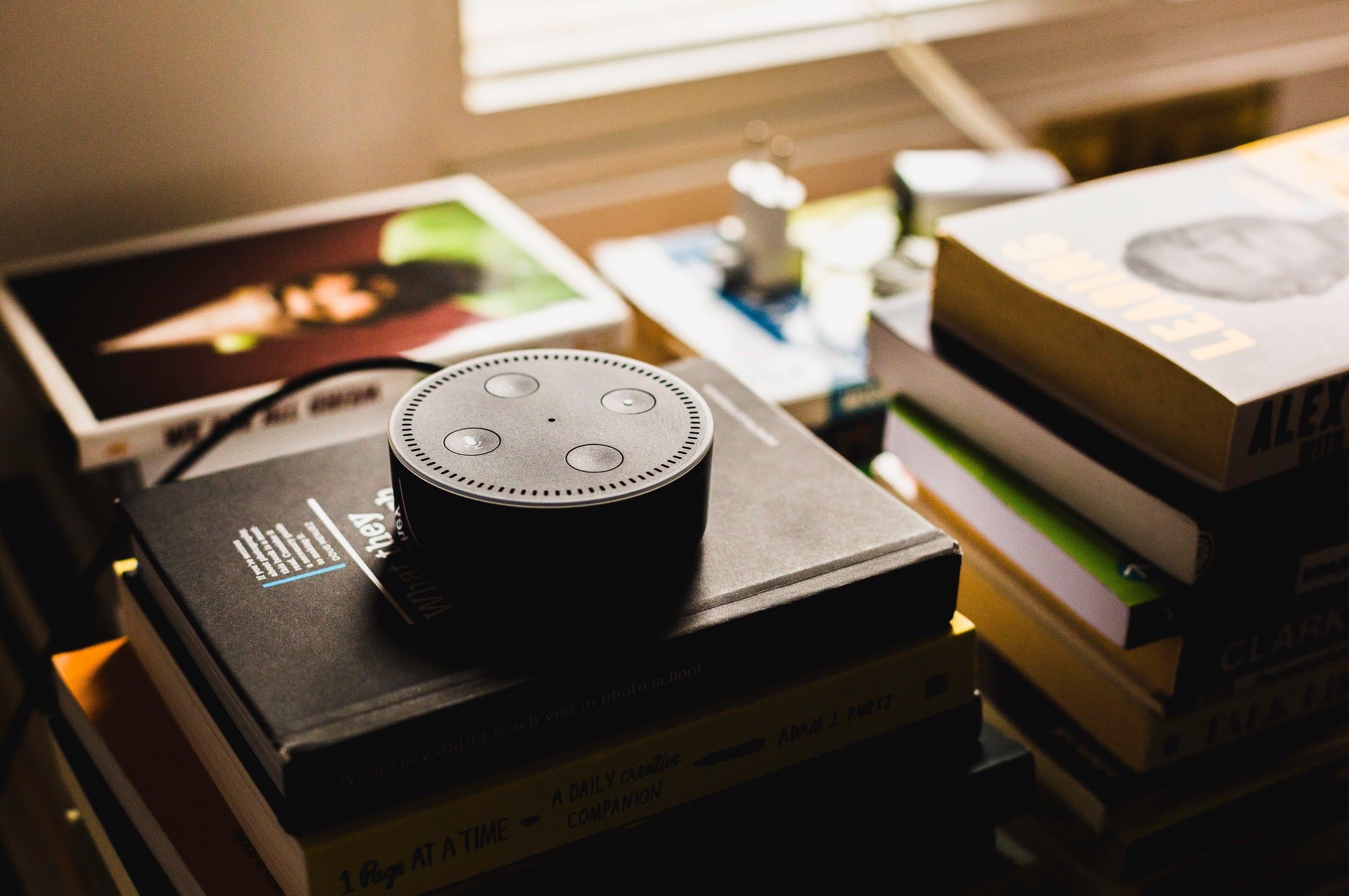 amazon dot voice device