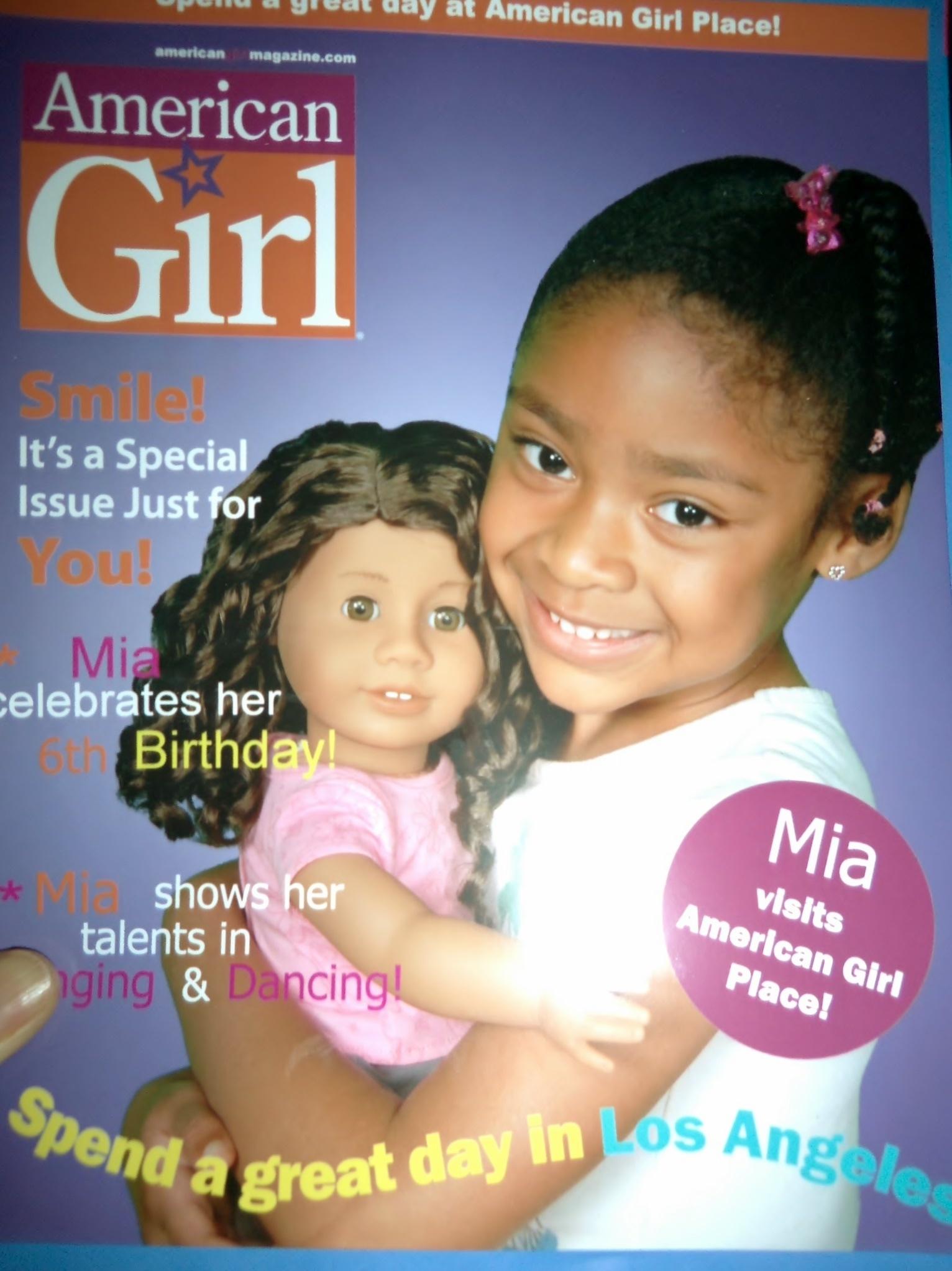 American Girl brand magazine