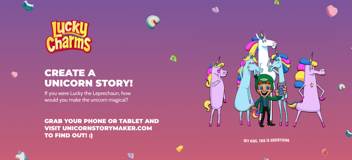 Lucky Charms brand storytelling