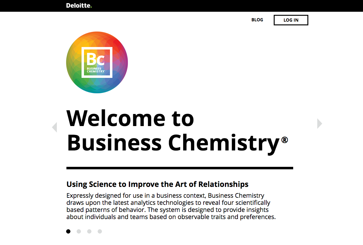Business Chemistry homepage