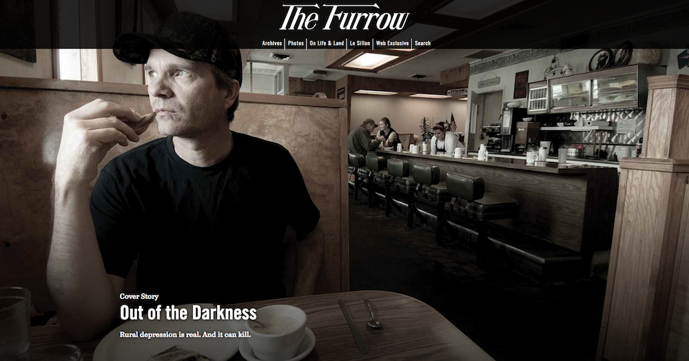 Homepage of The Furrow