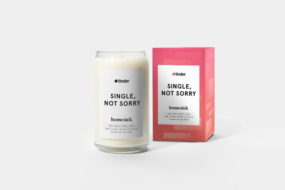 homesick/Tinder candle