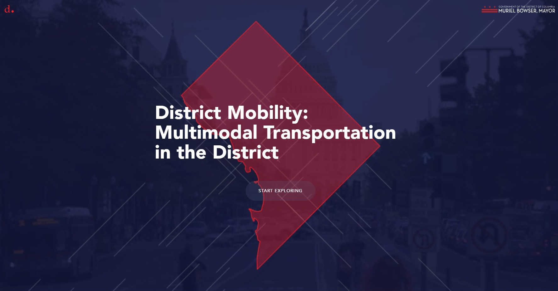 DDOT District Mobility website_screen capture