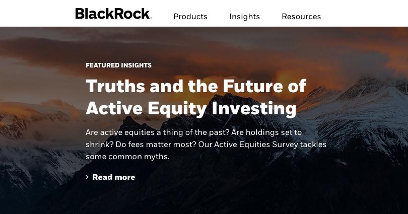 blackrock content marketing insights