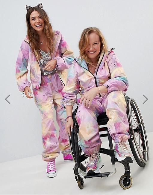 Wheelchair jumpsuit