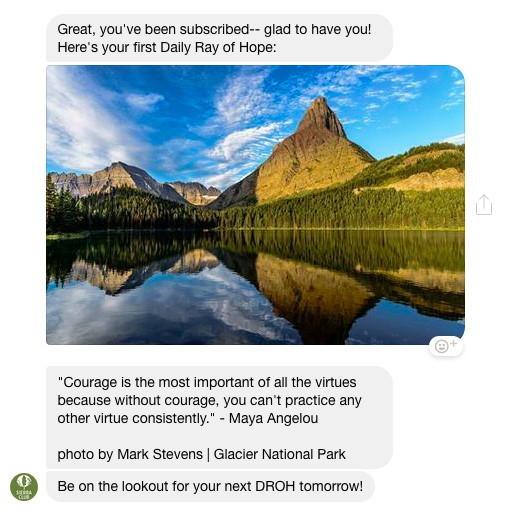glacier national park chat bot