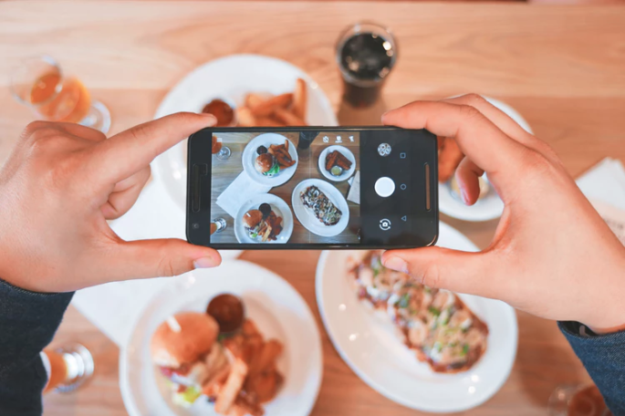 Phone photography for social media
