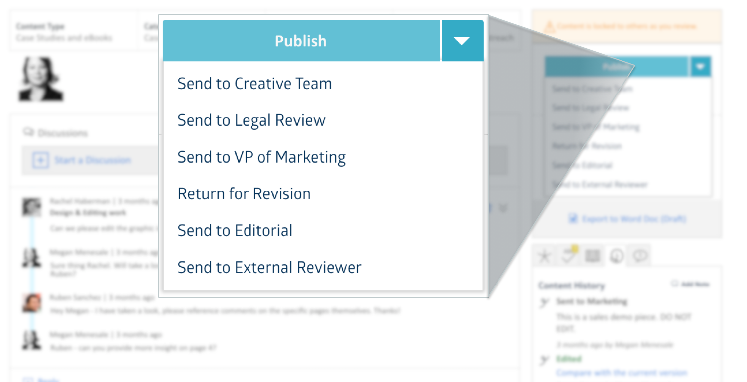 Skyword Content Publishing Workflow