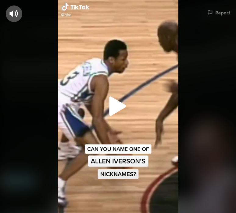 NBA TikTok