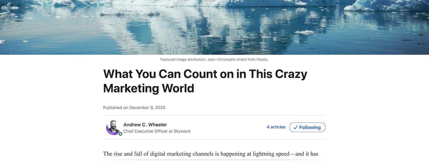 LinkedIn cross-post