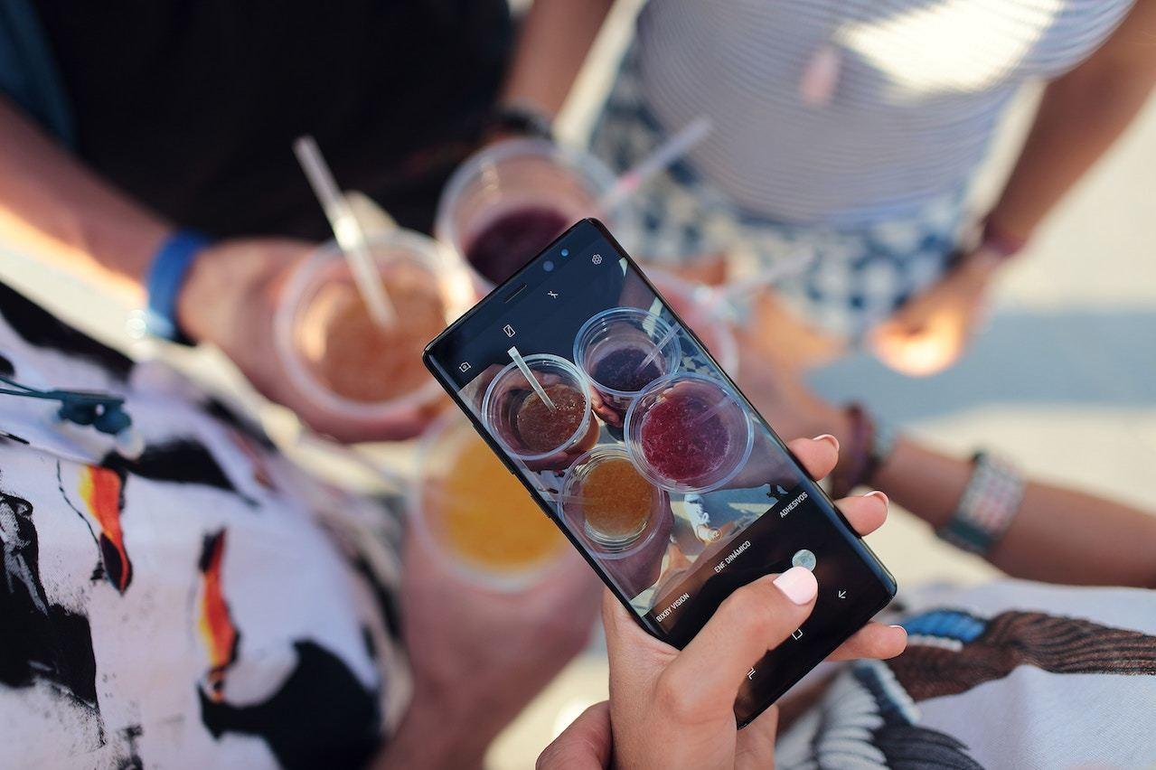 social media marketing using visuals