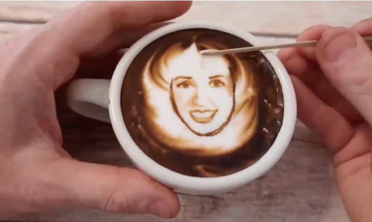 latte artist guest stars at live online event