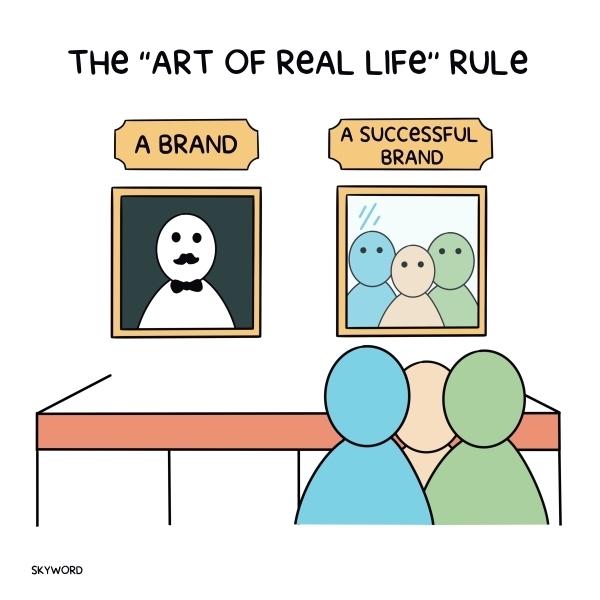 good versus great brand