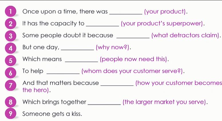 Brand Story Framework
